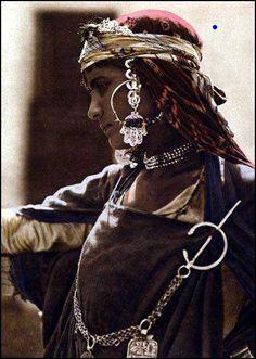 Berber woman from Tunisia