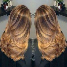Stunning Balayage Hair Color Ideas for 2016: Caramel Balayage