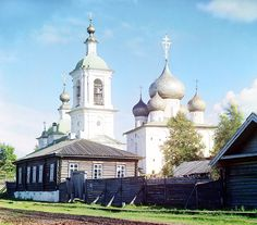 Church of the Assumption of the Mother of God by Sergei Mikhailovich Prokudin-Gorskii