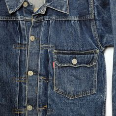 Posts about denim jacket written by Spencer Stewart Vintage Levis, Work Wear, Denim Jeans, Vintage Fashion, Pants, Jackets, Type, Big