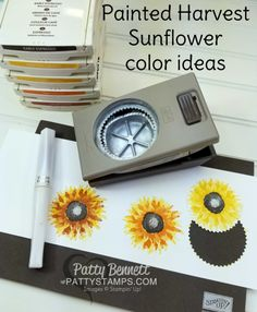 Video: How to stamp the Painted Harvest Sunflower | Patty's Stamping Spot | Bloglovin'