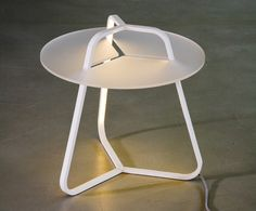 TOY table+lamp by 4P1B design studio