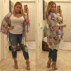 31 best plus size jeans summer outfits Plus Size plus size jeans Best Plus Size Jeans, Look Plus Size, Plus Size Women, Plus Size Fashion For Women Summer, Plus Size Summer Outfit, Plus Size Tips, Jeans Size, Casual Work Outfits, Mode Outfits