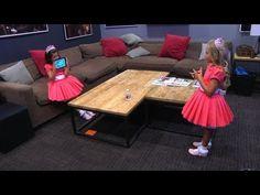 Sophia Grace & Rosie Play the New 'Heads Up!' Kids Deck