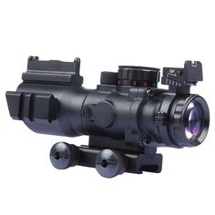 68.00$  Watch now - http://alinmt.worldwells.pw/go.php?t=32708843993 - Tactical 4x32 Sniper Scope Mini Red Dot Airsoft Sight Hunting Scopes Riflescope Night Vision Rifle Scope for Hunting Shooting 68.00$