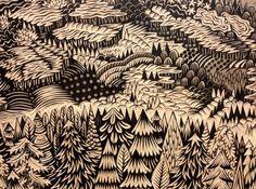 Incredible Printmaking skills - Tugboat Printshop