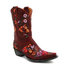 "Maverick | Old Gringo 10"" Red Jasmine Boot 