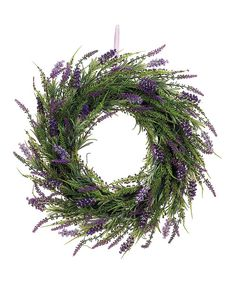 Perfect for bringing a touch of the outdoors in, this beautifully crafted wreath looks lovely year-round and makes a gorgeous gift.20'' diameterPolyester / plastic / twig / wire / ribbonImported