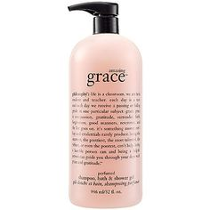 Philosophy Amazing Grace Shower Gel Shampoo Bath  Shower Gel 32 oz -- Click image for more details.