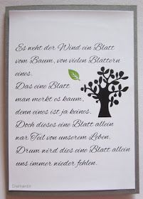 Trauerkarten - Diamantin& hobby world: mourning cards - Hobby World, Budget Envelopes, Man Humor, Bee, Lettering, Thoughts, Sayings, My Love, Quotes