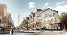 Gallery of Stewart Hollenstein Envision New Cultural Spine for Shanghai - 3