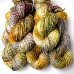 Aran SW Merino Cashmere and Nylon Yarn Heritage 180 by JulieSpins, $29.00