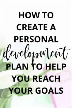 Personal development can be overwhelming when you first start out. Creating a personal growth plan can help you figure out where to focus your attention and awareness to reach your goals. In this post, I'm sharing how you can create a personal development Personal Development Books, Development Quotes, Self Development, Development Board, Work Life Balance, How To Better Yourself, Improve Yourself, Cold Home Remedies, Natural Remedies