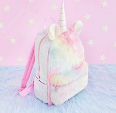Tag your Friends who love UNICORN ! Unicorn Makeup, Unicorn Nails, Pretty Backpacks, School Suplies, School Bags For Boys, Real Unicorn, Long Acrylic Nails, Unicorn Party, Diy And Crafts