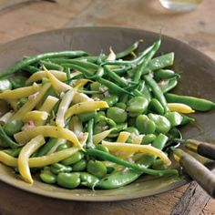 Mixed Garden Bean Salad with Shallots | Williams-Sonoma