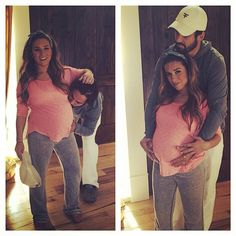 #4 - He's Supportive from 13 Reasons Eric Decker Will Make a Great Dad  Eric was the perfect partner throughout Jessie James' pregnancy, accompanying her to the doctor, helping out around the house and tending to her daily needs.