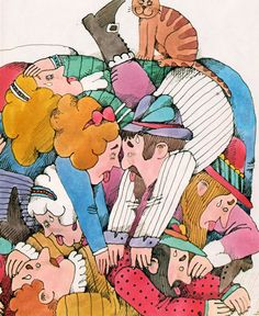 The Cat and the Fiddler, illustrated by Lionel Kalish