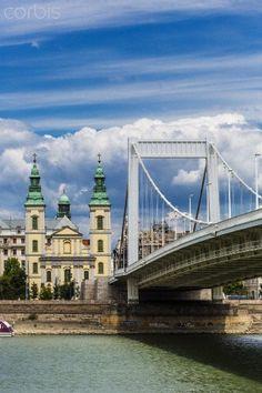 The Elisabeth Bridge, Budapest, Hungary