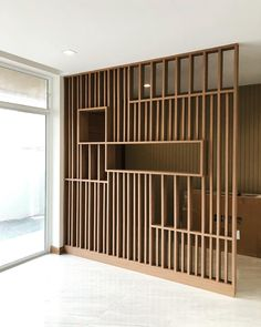 Living Room Designs 2016 & Lounge Room Design Ideas & Living Hall Decoration Ide& Living [& The post Living Room Designs 2016 Living Room Partition Design, Living Room Divider, Room Divider Walls, Room Partition Designs, Wood Partition, Room Dividers, Partition Ideas, Room Divider Bookcase, Partition Screen