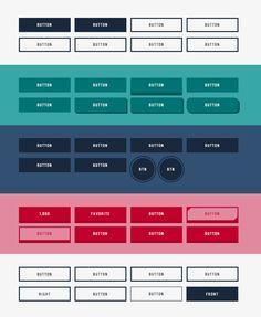 【40個】CSS3ボタン集 – 3Dアニメーションで動くボタン等、40種類の色々なボタンを作ってみたよ。 | Stronghold