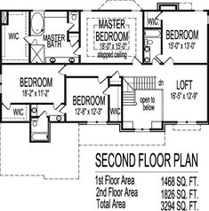 Arts and Crafts Two Story 4 Bath House Plans 3000 Sq Ft w ...