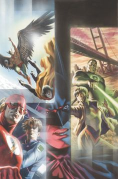 Justice League by Felipe Massafera