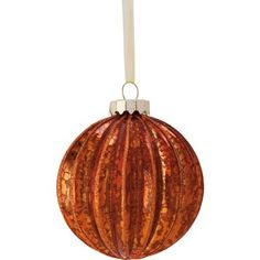 Bronze Mercury Glass Bauble at Homebase -- Be inspired and make your house a home. Buy now.