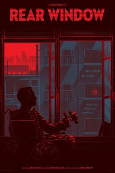 Kevin Tong's Rear Window Poster