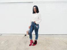 Look do dia - Calça Mom Jeans
