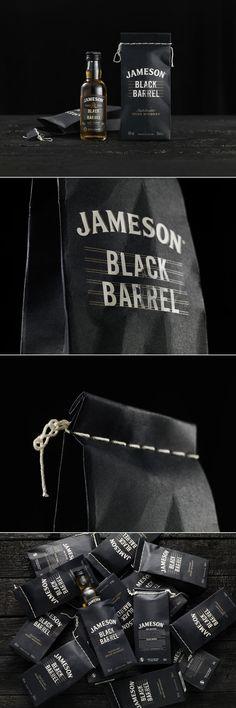 Jameson Black Barrel Is a Tribute To An Old Distillery Method — The Dieline | Packaging & Branding Design & Innovation News