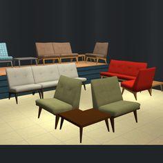 Mid Century Modular Sofa