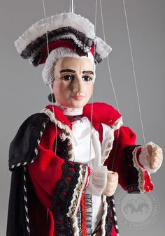 Amadeus Marionette Czech Handmade String by CzechMarionettes