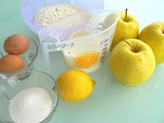Μηλοτηγανίτες Pancakes, Apple, Fruit, Food, Apple Fruit, Essen, Pancake, Meals, Yemek