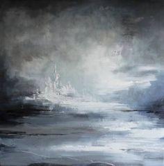 "Saatchi Art Artist David Ridley; Painting, ""Rising Tides"" #art"