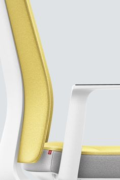 PURE INTERIOR Edition 11 #Gelb. Mehr Design für dein #HomeOffice. Mit einer vielfältigen und hochwertigen Stoffauswahl und ihrem ergonomischen Design vereint die PURE INTERIOR Edition bequemes und ergonomisches Sitzen. Das Design und die Farbgebung des PURE machen ihn zu einem optischen Leichtgewicht. Farblich abgestimmt bringt er sich in das Home Office ein und kann sich gleichzeitig zurücknehmen. #schreibtischstuhl #design #interiordesign #Stoff #ergonomie #interstuhl Home Office, Pure Home, Interiordesign, Designer, Pure Products, Rings, Yellow, Office Home, Home Offices