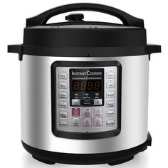 Instant Cooker IC60 7-in-1 Multi-Functional Programmable Pressure Cooker, 6Qt/1000W *** You can find out more details at the link of the image.