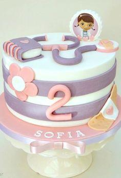 Doc McStuffins Themed Cake