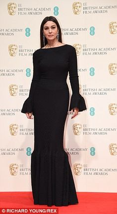 Fabulous over 50! The mature ladies who sparkled at the BAFTAs