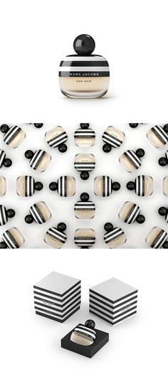 Marc Jacobs Mod Noir Packaging Design