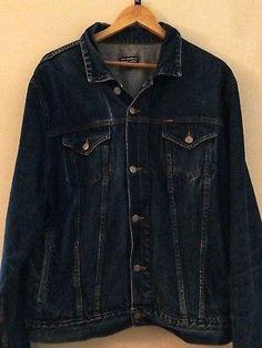 Ralph Lauren Polo vintage men's denim jacket Heritage fit size Large VGC