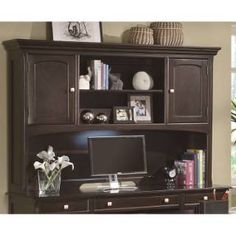 Coaster Furniture 801013H Garson Transitional Hutch