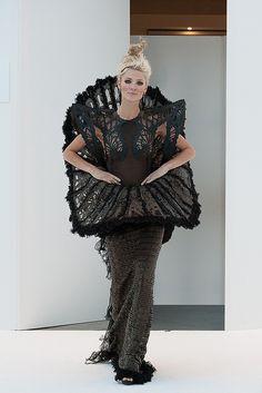 Malgorzata Dudek Spring 2013 Fashion Show | Maison Chaplin