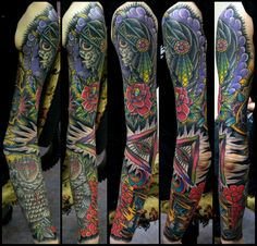 beautiful, colorful sleeve