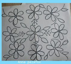 Flores Mexican Embroidery, Hand Work Embroidery, Embroidery Flowers Pattern, Floral Embroidery, Flower Patterns, Quilt Patterns, Jacobean Embroidery, Embroidery Stitches, Mexican Pattern