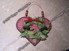 Wreath heart.