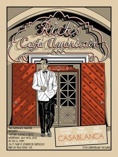 Rick's Cafe Americain Poster
