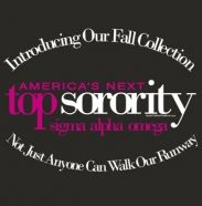 Not just anyone can walk our runway for top sorority design.