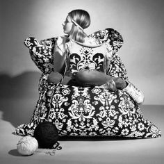 #Sitzsack von Sitting Bull - Fashion Bull: Marie Antoinette