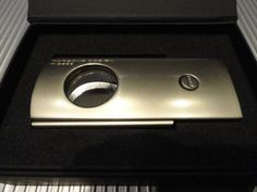 Porsche Design  P3600 Cigar Cutter in Titan Pearl Model Number # 51170