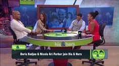 Jul 14, 2015   Boris Kodjoe & Nicole Ari-Parker join the show to discuss their new talk show, marriage and their admiration for Serena Williams. The Boris & Nicole Show debuted 7/6/15 on fox.